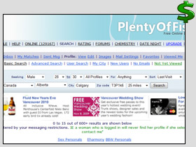 Site de rencontres plenty of fish